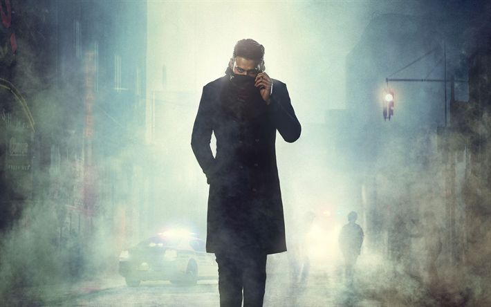 Download wallpapers Saaho, 2018, poster, new movies, Prabhas Raju Uppalapati