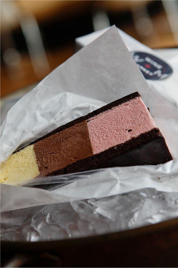 homemade neapolitan icecream