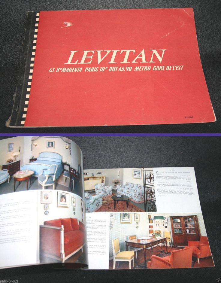 Ancien Catalogue Levitan Mobilier Meubles Ameublement 51eme Edition Mobilier De Salon Catalogue Ameublement
