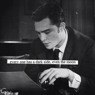 Everyone Has A Dark Side Even The Moon Chuck Bass