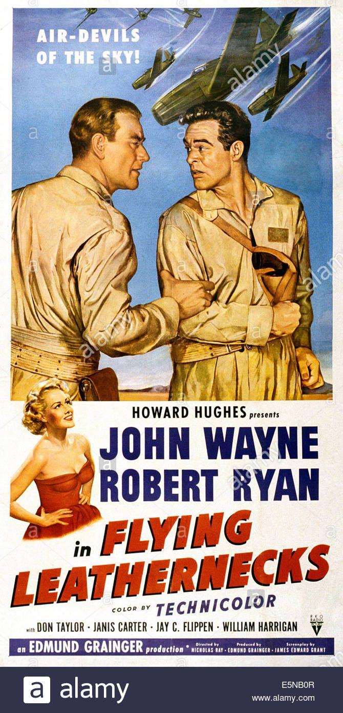 Flying Leathernecks, John Wayne, Robert Ryan, Janis Carter, 1951 Stock Photo, Royalty Free Image: 72384391 - Alamy