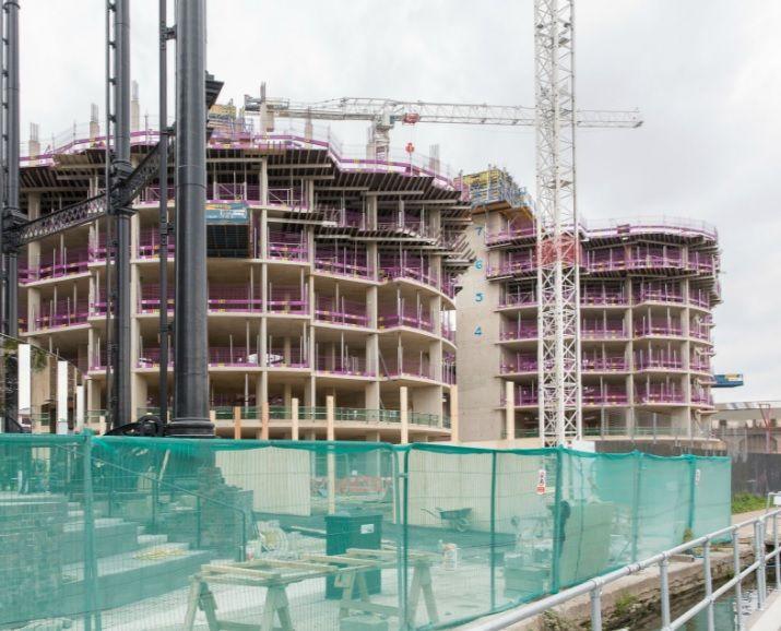 Flood Precast providing Precast Stairs and Associated Precast Landings for exciting London Development