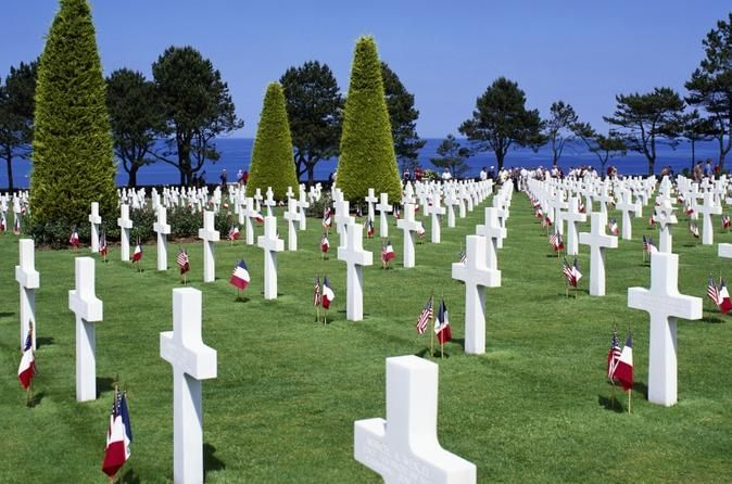 D-day beaches driving tour