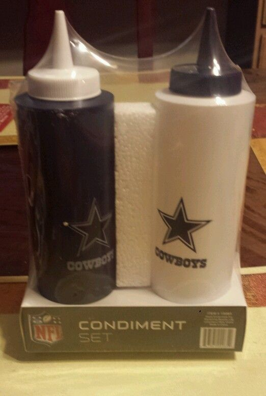 check out 75c39 04d56 Dallas Cowboys Condiment Set - New | Dallas Cowboys ...