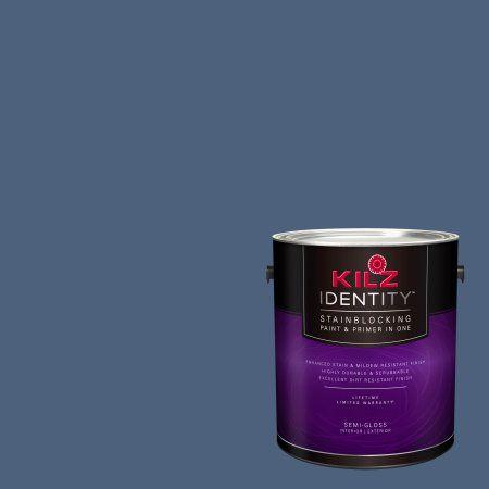 Kilz Identity Interior Exterior Stainblocking Paint Primer In One Rc140 02 Stormy Sea 1 Gallon Gray Kilz Paint Primer Identity