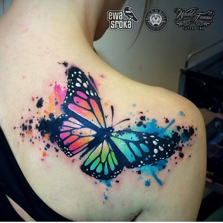 Best 25+ Colour Tattoo Ideas On Pinterest