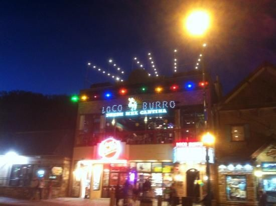 Loco Burro In Gatlinburg! Awesome Roof Top Dining!!! #vacation #bar