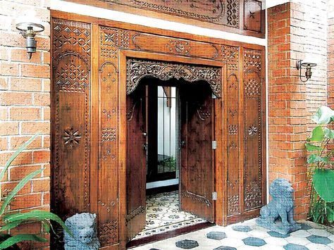 Pintu Rumah Gebyok Jawa