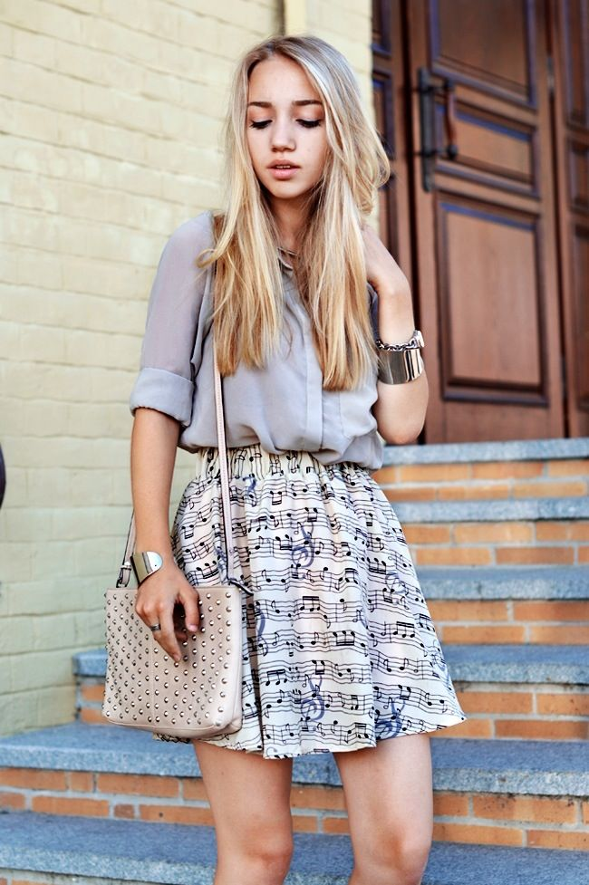 music note skirt... in love with this