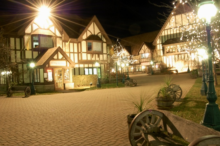 Canterbury Village. Closer than Frankenmuth with a