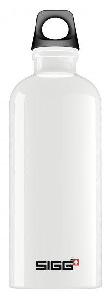 SIGG Bottles - 0.6L White Classic Traveller