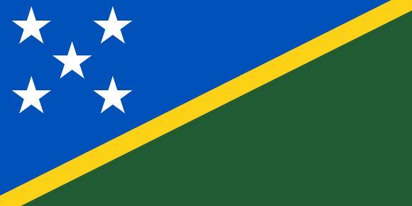 Vlajka Šalamúnových ostrovov
