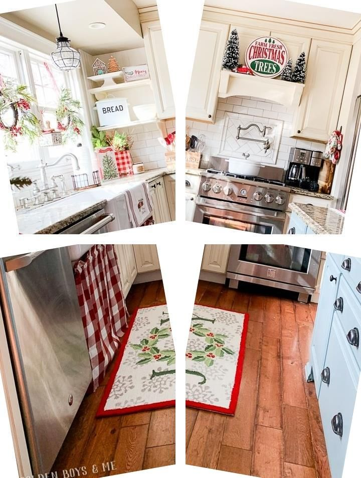 Kitchen Decorating Ideas 2016 Red
