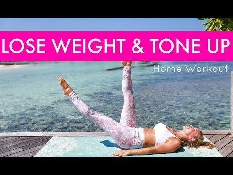 How to Lose Weight & Tone Up - HOME WORKOUT | Rebecca Louise - YouTube