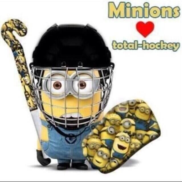 This does not need a caption. #minion #hockey #despicableme2 # ...