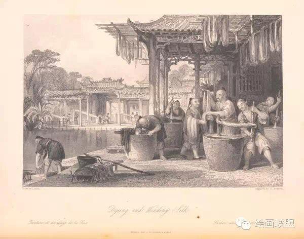 【珍藏】西方人18世纪绘制的中国风土人文手稿85P.