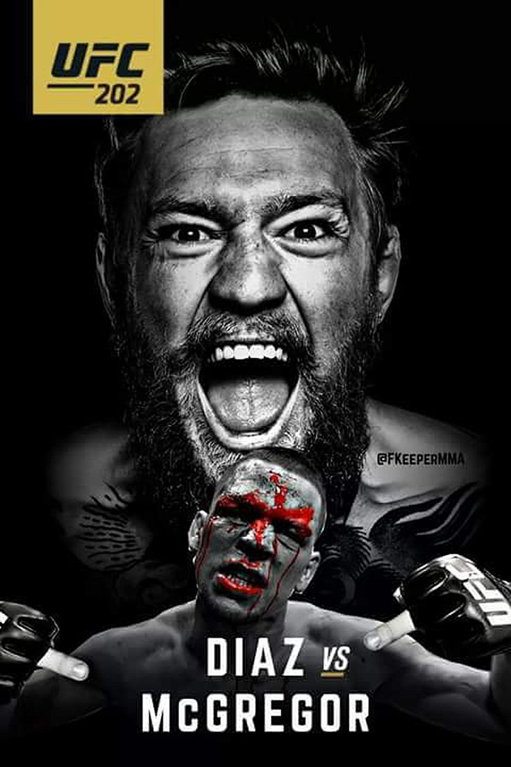 Nate Diaz vs Conor McGregor fight promo for #UFC202 : if you love #MMA, you'll love the #UFC & #MixedMartialArts inspired fashion at CageCult: http://cagecult.com/fitness