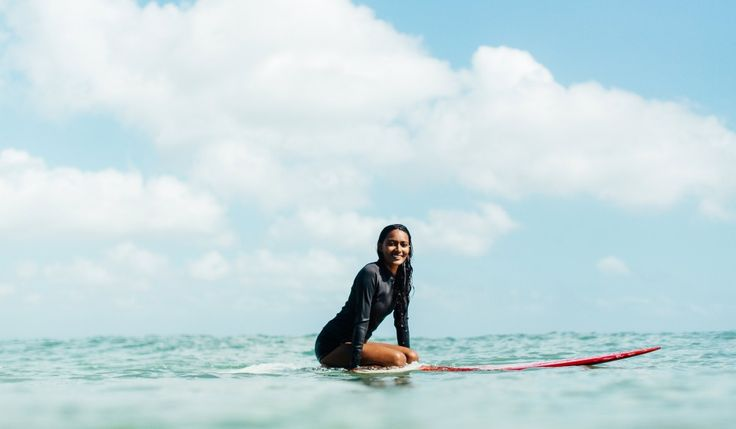 Meet Ishita Malaviya, India's first female surfer