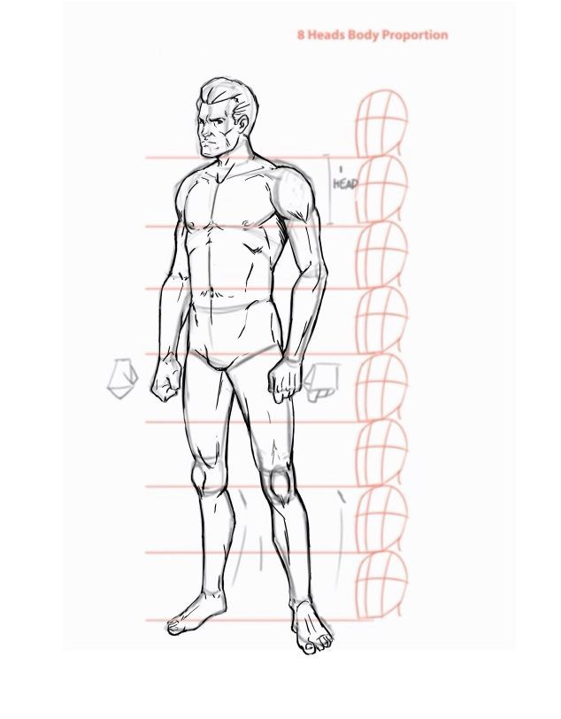 How To Draw The Human Body Step By Step How To Draw A Person Tutorial Human Body Drawing Body Drawing Human Sketch