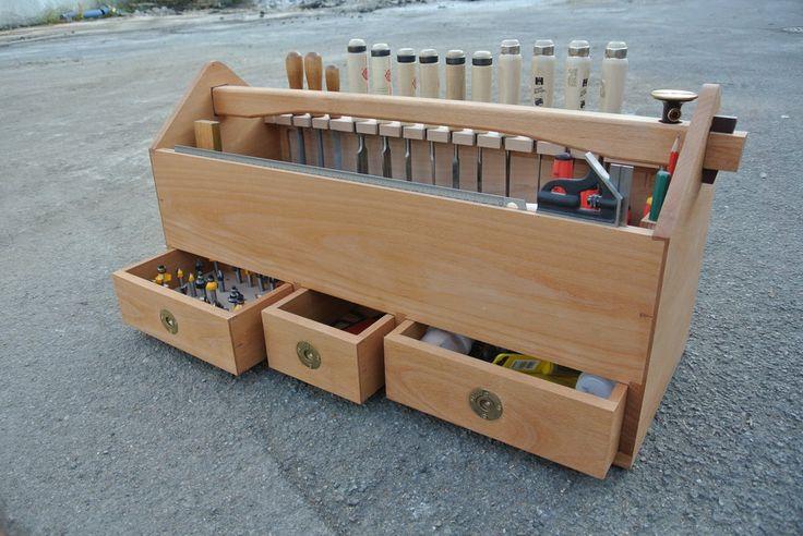 Werkzeugkiste aus Buche