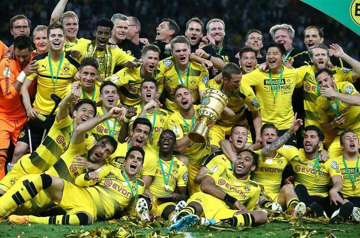 #Pokalsieger2017 #DFBPokal #BVB #EchteLiebe