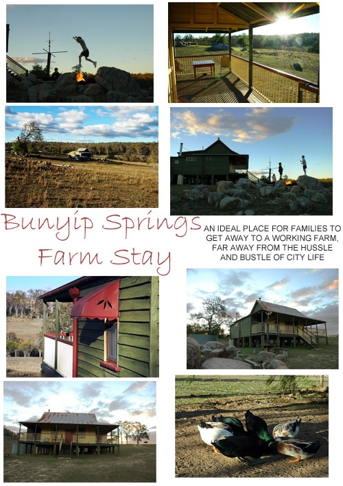 Bunyip Springs FarmStay offers a choice of accommodation, from excellent overnight accommodation through to longer stays. Choose from the Bunyip Springs Cottage or the Bunyip Springs Lodge.