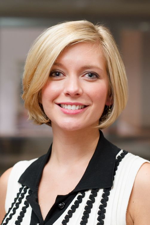 Countdown presenter Rachel Riley - Photograph by Alex Orrow