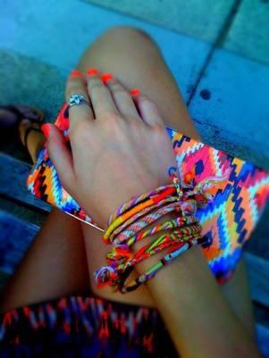 friendship bracelets, a summer must