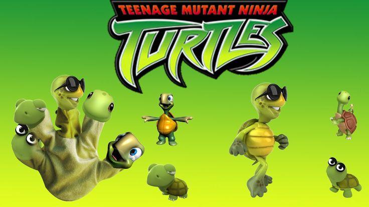 Finger Family Song of Ninja Turtles   Finger Family Nursery Rhymes for Kids