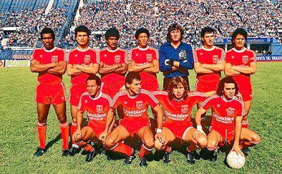 Equipos de fútbol: AMÉRICA DE CALI finalista de la Copa Libertadores 1987