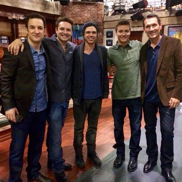 Ben Savage, Will Friedle, Matthew Lawrence, Peyton Meyer & Anthony Tyler Quinn