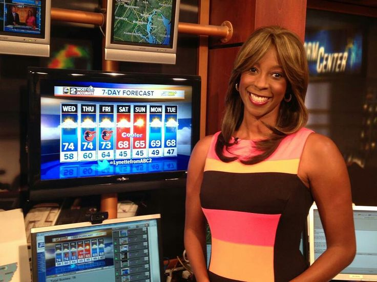 Lynette Charles - WMAR Channel 2 News Weather Anchor in Baltimore.