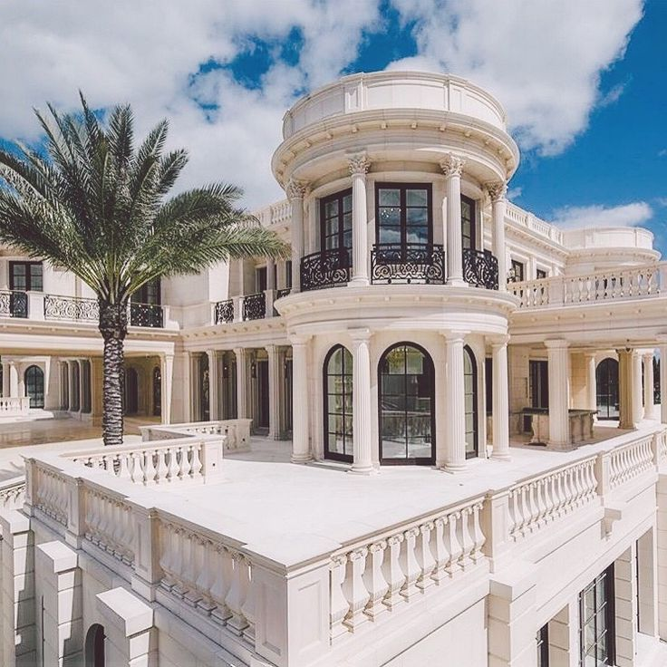 Luxury Grand White Mansion. For More, Check |