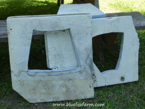 how to make a mold out of styrofoam