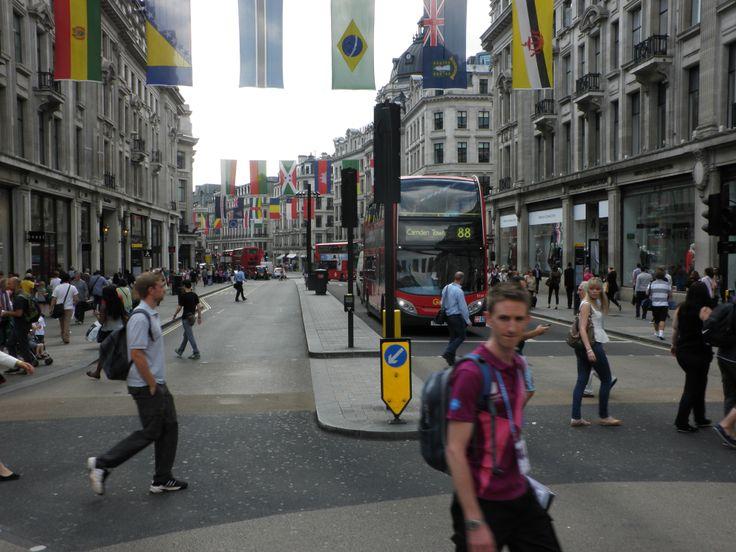 Oxford Street/Regent Street, London