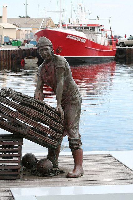Statue of a Docker | Flickr - Photo Sharing!