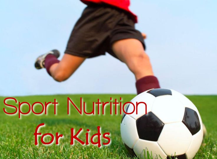 Sports Nutrition for Kids