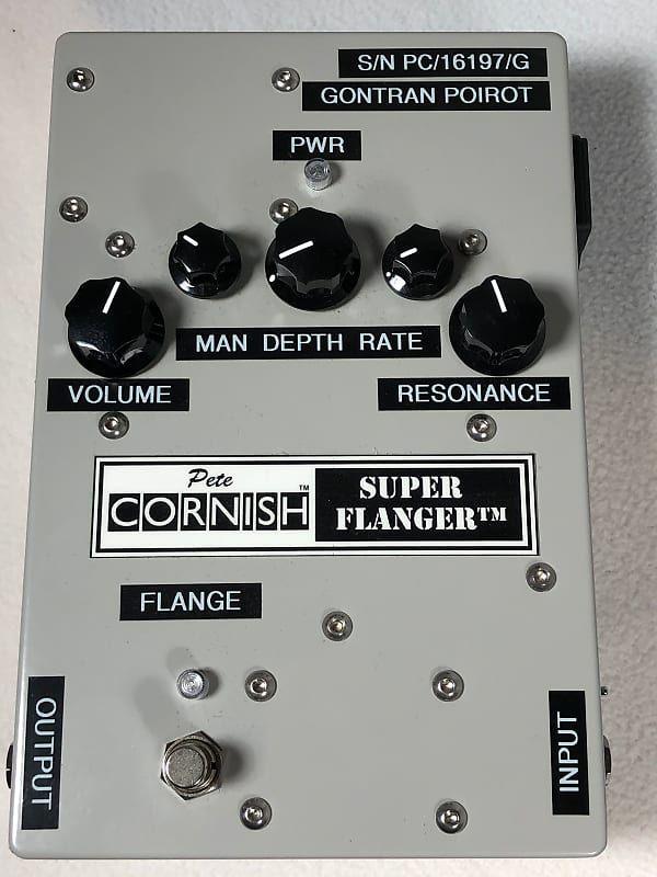 Pete Cornish Super Flanger Guitar Pedals Pete Pedalboard