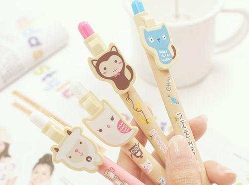 Moda de tudo um pouco : canetas fofas