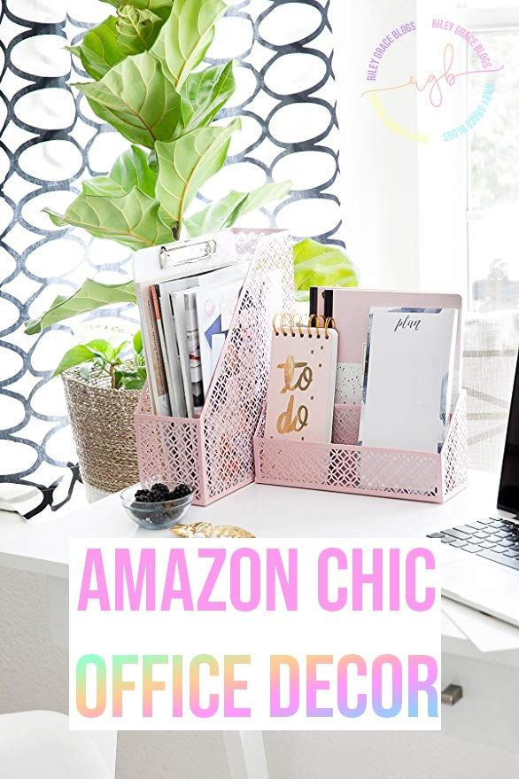 Chic Office Decor Cute Desk Organization Desk Organizer Set Desk Accessories For Women