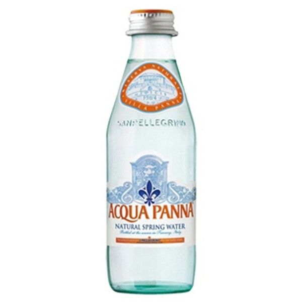 Acqua Panna Natural Spring Water 250 ml Glass Bottles - Pack of 24
