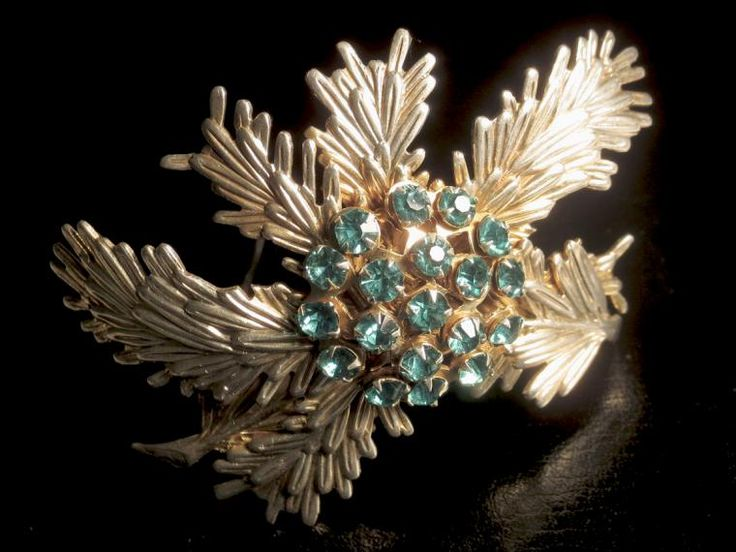 винтажная брошь, vintage jewelry