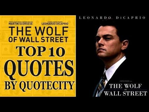 30 best film quotes the wolf of the street images on on wall street id=91382