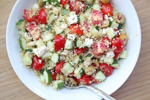 Greek Quinoa Chilled Salad from Erin on SC Johnson's Family Economics ...