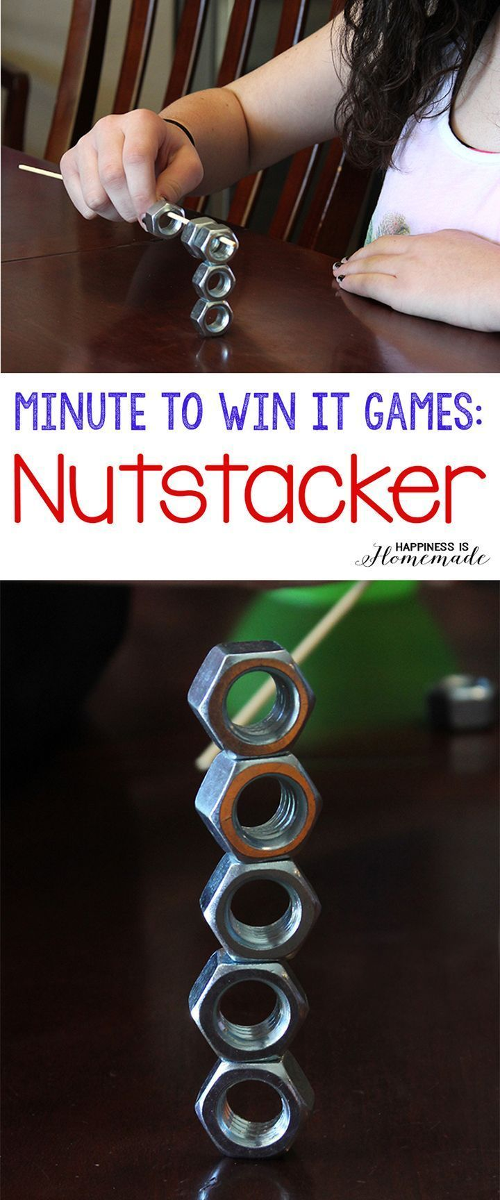 These 10 Minute to Win It games were perfect for all ages  challenging enough for older children, but easy enough for everyone to join in the fun! Hysterical silly fun for everyone! #CampingGames
