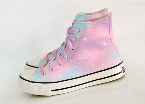 Harajuku gradient galaxy canvas shoes sold by Harajuku fashion. Shop more products from Harajuku fashion on Storenvy, the home of independent small businesses all over the world.