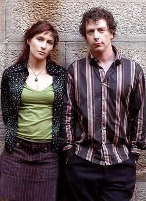 Claudia Karvan as Frankie Page and Ben Mendelsohn as Lewis Feingold in Love My Way