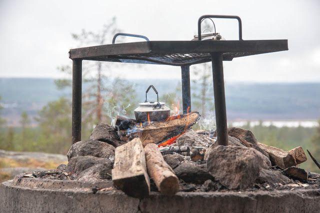 Rovaniemi: Kuninkaanlaavun henkeäsalpaavissa maisemissa