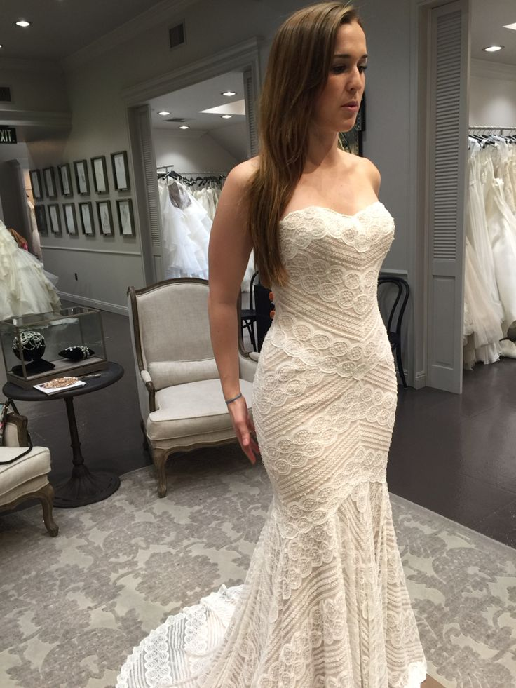 Wtoo pippin wedding pinterest dresses for Adding straps to wedding dress