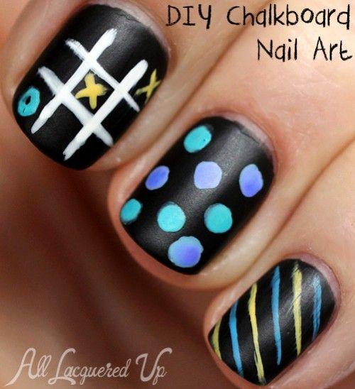 Toe Nail Art Tutorials: 25+ Best Ideas About Chalkboard Nails On Pinterest